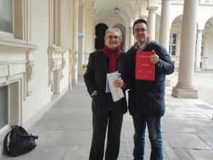 Il prete operaio, Felice Reburdo e Romano. 10 marzo 2014
