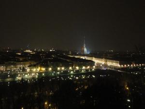 Torino notturna dai Cappuccini