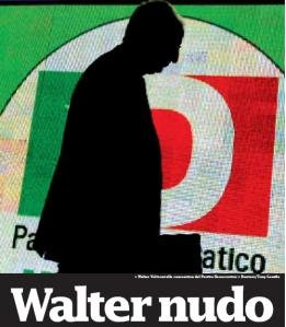 Liberazione 18 Febbraio 2009: Dimissioni dal Pd di Walter Veltroni