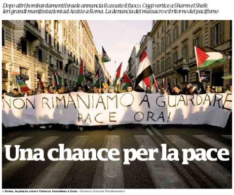 Manifestazione 17 Gennaio 2009