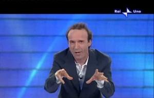 Roberto Benigni a Sanremo 2009