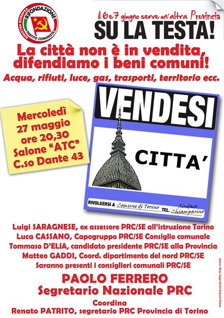 Renato patrito il blog di romano borrelli for Vendita mobili torino e provincia