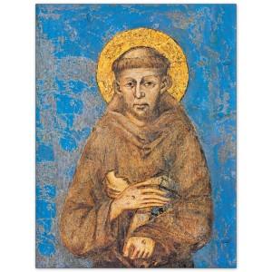 Assisi. Basilica Inferiore. Dipinto di Cimabue