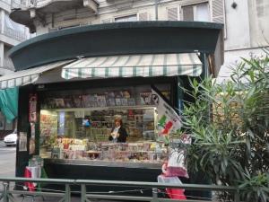 Edicola via XX Settembre, Torino. Foto, Romano Borrelli