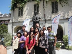 Torino 24 maggio 2014. Cortile Basilica Maria Ausiliatrice. Rettor Maggiore. Foto Romano Borrelli (2)
