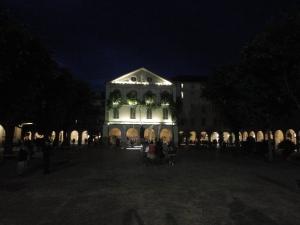 Torino 24 maggio 2014. Ore 2.00 Cortile. Foto Romano Borrelli