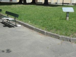 Torino 28 maggio. Corso Umbra. Aiuola Torremaggiore. Piazza Umbria. Foto, Romano Borrelli