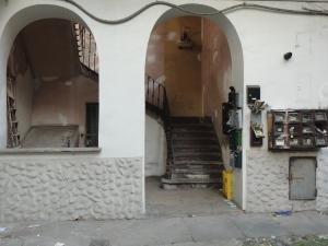 Torino. Interno. Casa di ringhiera