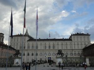 Torino. Piazza Castello. Foto Romano Borrelli
