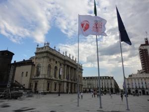 Torino, Piazza Castello. Torino capitale dello sport. Foto, Romano Borrelli