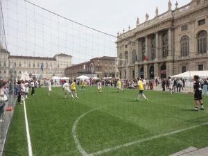 Torino. 1 giugno 2014. Piazza Castello. Foto, Romano Borrelli