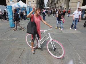 Torino 1 giungo 2014. Piazza Castello. Foto, Romano Borrelli