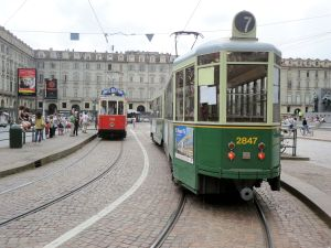 Torino 24-6-2014-Piazza Castello-tram Foto-R-B
