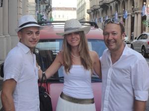 Torino 29 giugno 2014. Via Roma. Verso tavola in...bianco...Foto Romano Borrelli