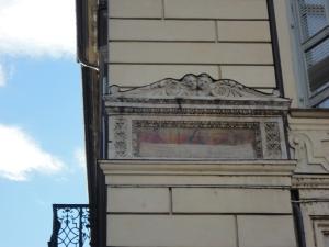 Torino. Piazza San Carlo. La Sindone. Foto, Romano Borrelli