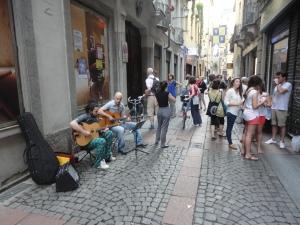 Torino. Via dei Mercanti. Festa dei vicini. 3. Foto Romano Borrelli