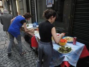 Torino. via dei Mercanti. La festa dei vicini. Foto, Romano Borrelli (2)