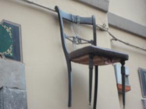 La sedia della...maturità. Torino. Foto, Romano Borrelli