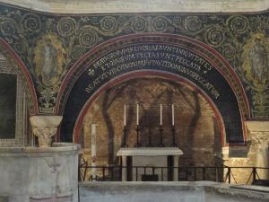 Ravenna 20 luglio 2014. Il Battistero. Foto, Romano Borrelli