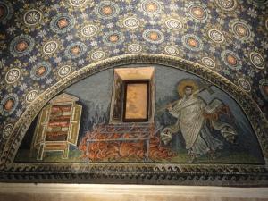 Ravenna, 20 luglio 2014.  Mausoleo Galla Placidia. Foto, Romano Borrelli