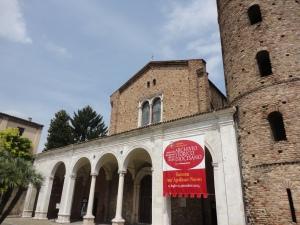 Ravenna 20 luglio 2014. Sant'Apollinare Nuovo. Foto, Romano Borrelli