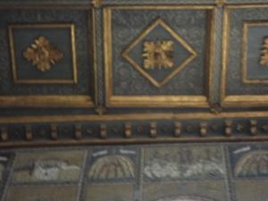 Ravenna. Sant'Apollinare Nuovo. La Cena e Gesù nel giardino degli Ulivi. Foto, Romano Borrelli