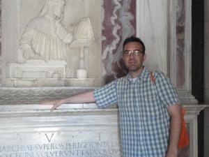 Ravenna. Tomba di Dante. Foto, Romano Borrelli