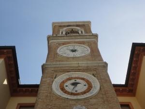 Rimini. La torre, l'orologio, calendario. Foto, Romano Borrelli
