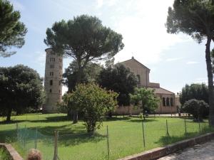 Sant'Apollinare in Classe. Mercoledi 23 luglio 2014. Foto, Romano Borrelli