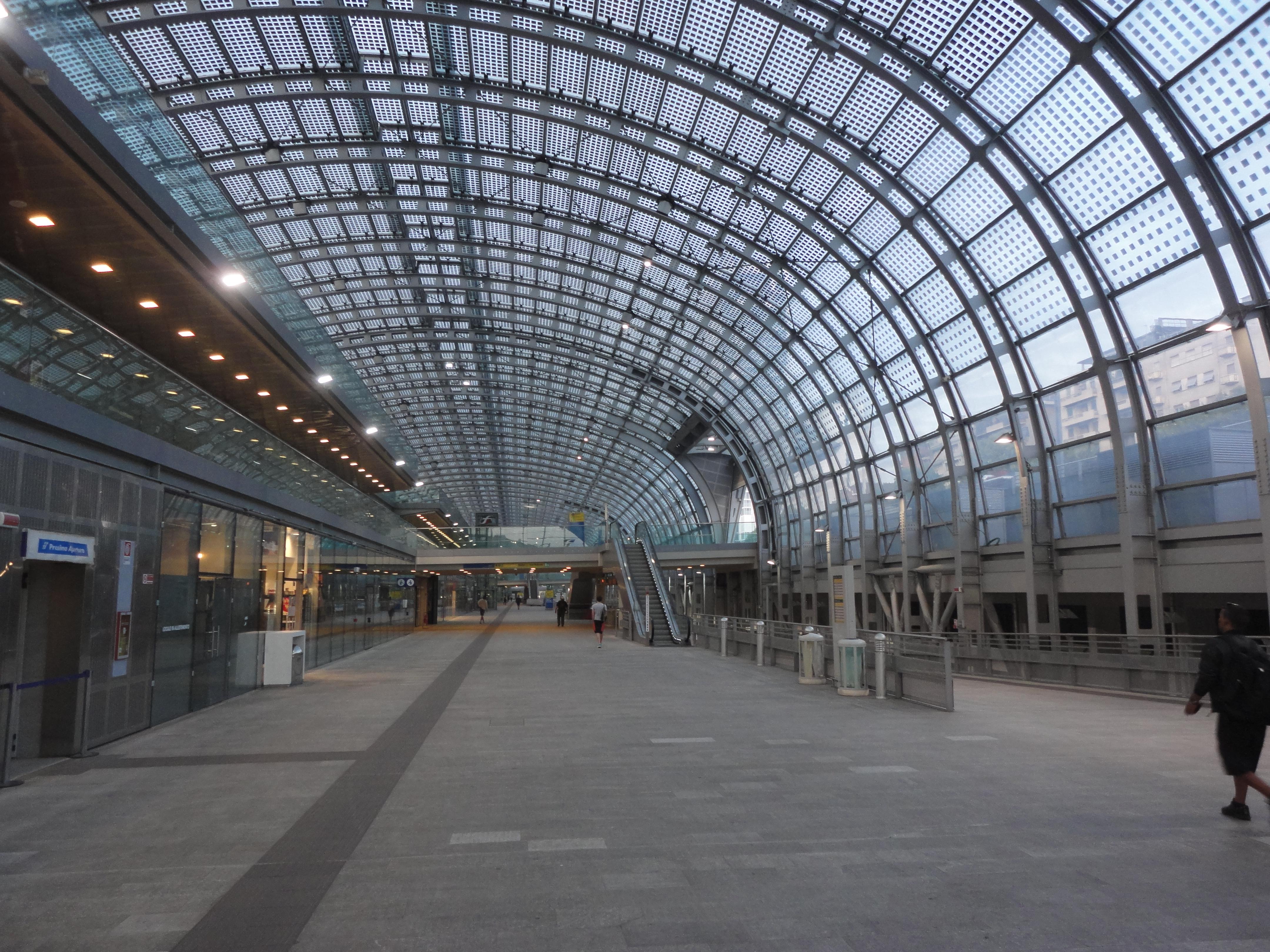 Stazione sotterranea torino porta susa il blog di romano - Treni porta susa ...