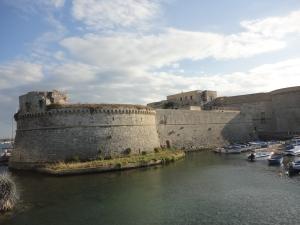 Gallipoli, 7 agosto 2014. Il castello. Foto, Romano Borrelli