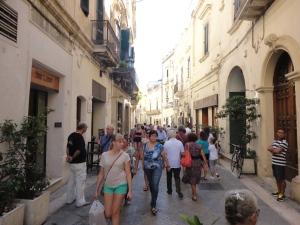 Lecce, 26 agosto 2014. Il centro. Foto, Romano Borrelli