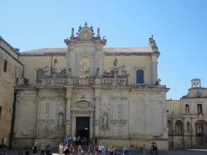 Lecce 26 agosto 2014. Il Duomo. Foto, Romano Borrelli