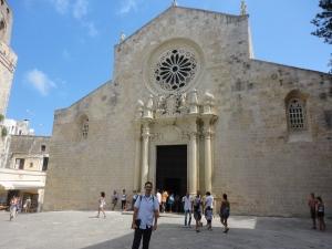 Otranto. La Cattedrale. 23 agosto 2014. Foto, Romano Borrelli