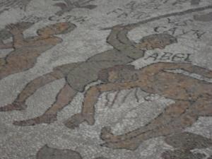 Otranto. La Cattedrale. I mosaici. 23 agosto 2014. Foto, Romano Borrelli