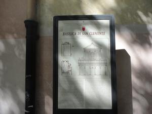 Roma. 27 agosto 2014. Basilica di San Clemente. Foto, Romano Borrelli