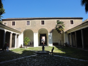 Roma, 27 agosto 2014. Basilica di San Clemente. Foto, Romano Borrelli