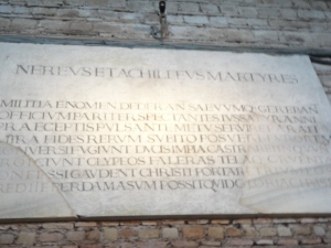 Roma, 27 agosto 2014. Catacombe di Domitilla. Foto, Romano Borrelli (2)