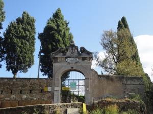 Roma, 27 agosto 2014. Catacombe di San Callisto. Foto, Romano Borrelli.
