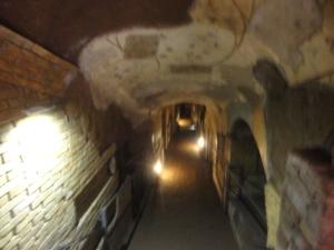 Roma, 27 agosto 2014. Catacombe. Foto, Romano Borrelli