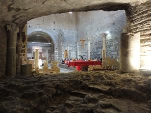Roma, 27 agosto 2014. Le Catacombe di Domitilla. Foto, Romano Borrelli