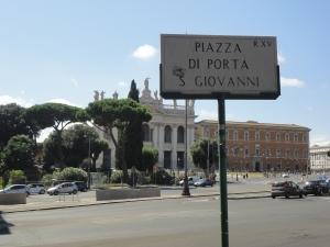 Roma, 27 agosto 2014. San Giovanni in Laterano. Foto, Romano Borrelli (2)