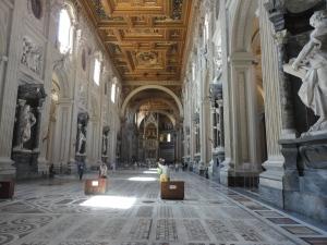 Roma, 27 agosto 2014. San Giovanni in Laterano. Foto, Romano Borrelli