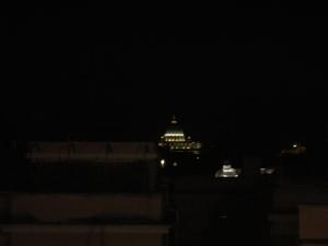 Roma. Il Cupolone dal Quirinale. Foto, Romano Borrelli