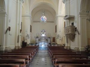 Santa Maria di Leuca. 7 agosto 2014. La Chiesa, interno. Foto, Romano Borrelli