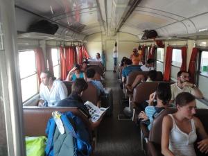 Verso Melpignano. Ferrovia Sud Est. 23 agosto 2014. Foto,Romano Borrelli