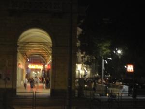 Hotel Roma. Piazza Carlo Felice, Torino. Foto, Romano Borrelli
