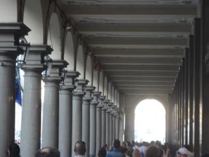 Torino 27 settembre 2014. I portici di via Roma. Foto, Romano Borrelli