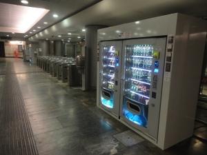 Torino. Fermata Metro, Principi D'Acaja. Foto, Romano Borrelli