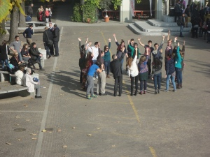 Torino 1 novembre 2014. Cortile di Valdocco, foto, Romano Borrelli
